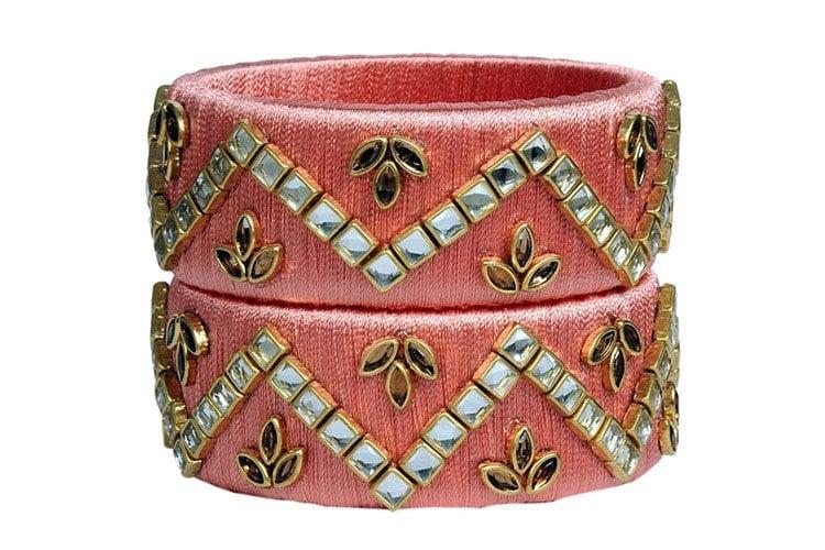 Fabric Bangle Set for Women