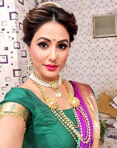 Hina Khan Makeup
