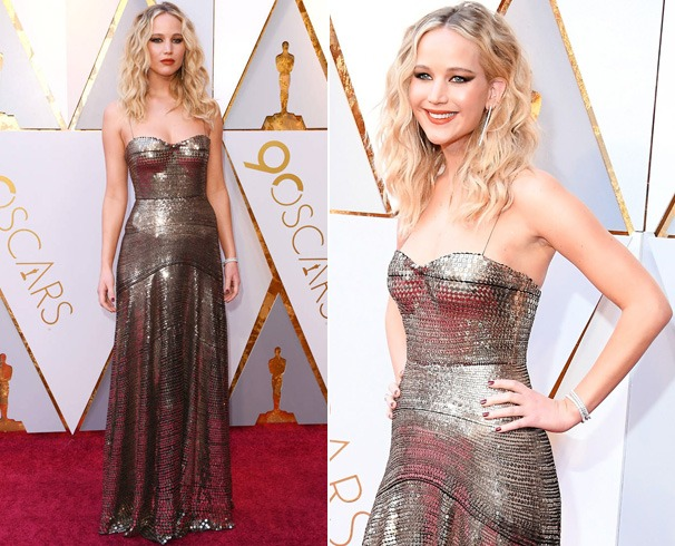 Jennifer Lawrence Dress at Oscars