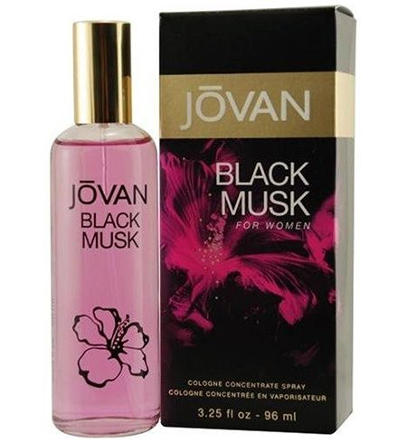 Jovan Black Musk Eau de Cologne for Her