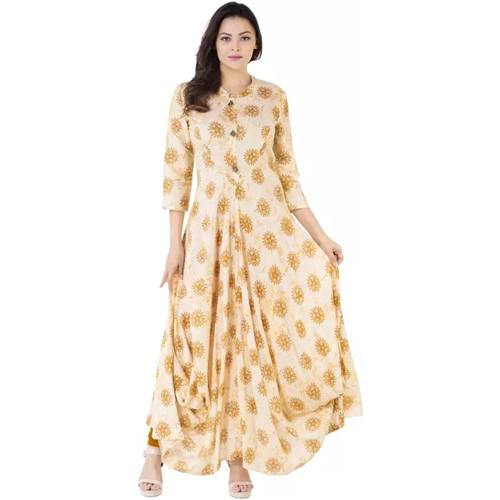 Khushal Self Design Womens A-line Kurta