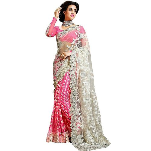 Maiya Saree Womens with Blouse Piece