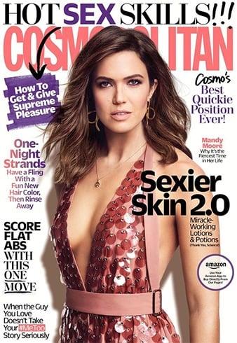 Mandy Moore for Cosmopolitan