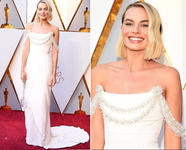 Margot Robbie Dress at Oscars