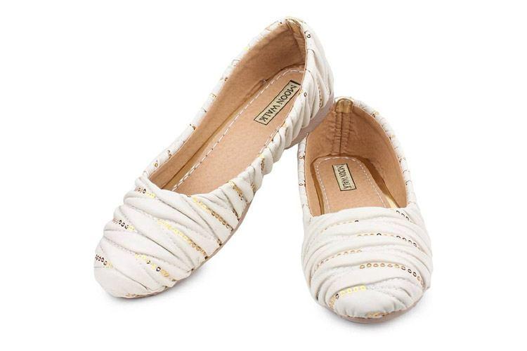 Moonwalk Women Suede Belly Shoes