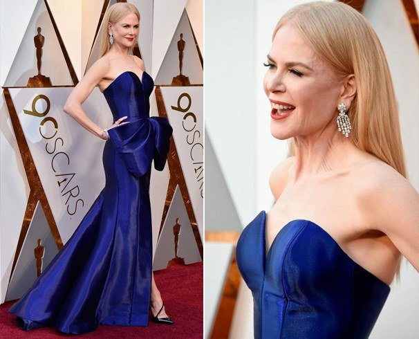 Nicole Kidman Dress at Oscars