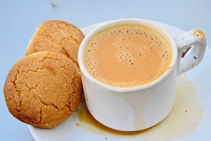 Osmania Biscuits and Irani Chai