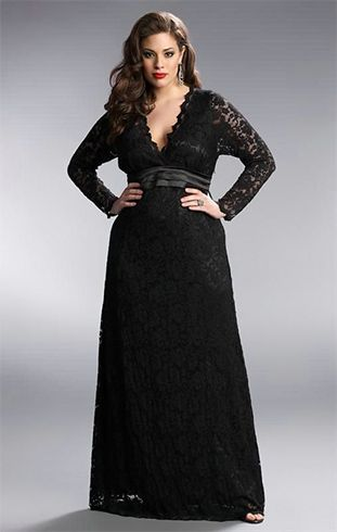 Plus Size Prom Outfits