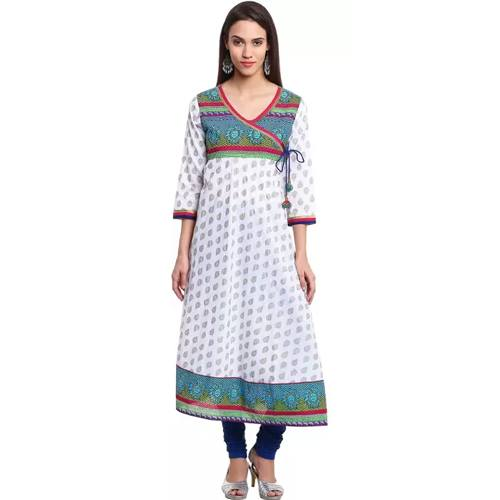 Printed Womens Anarkali Kurta