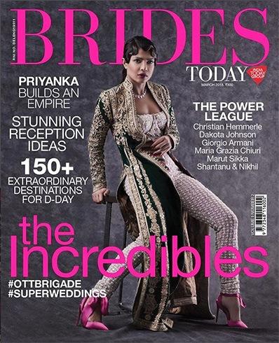 Priyanka Chopra on Brides Today