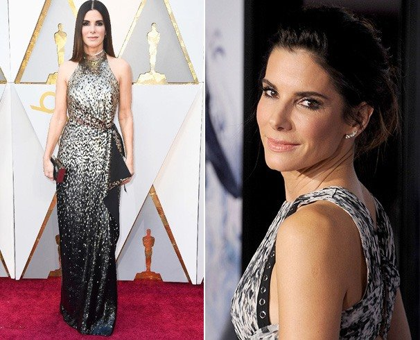 Sandra Bullock Dress at Oscars