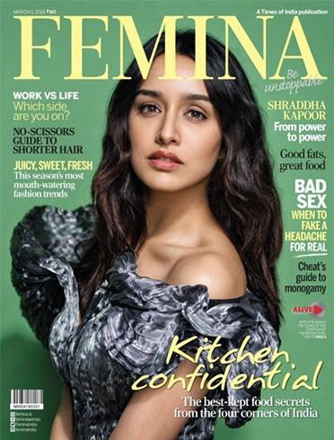Shraddha Kapoor on Femina