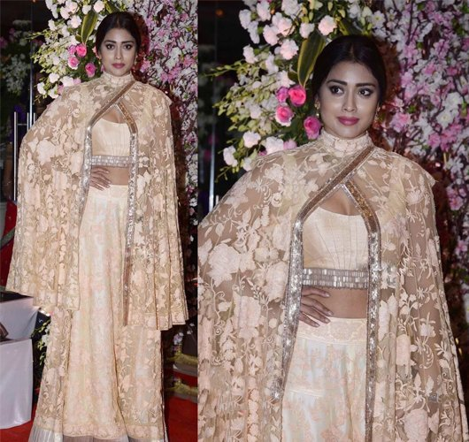 Shriya Saran in Manish Malhotra Fashion