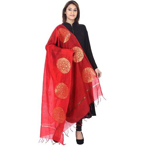 Silk Banarsi Woven Handloom Dupatta