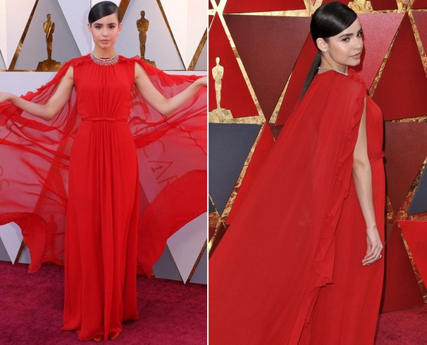 Sofia Carson Dress at Oscars