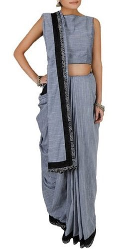 Summer Chambray Saree