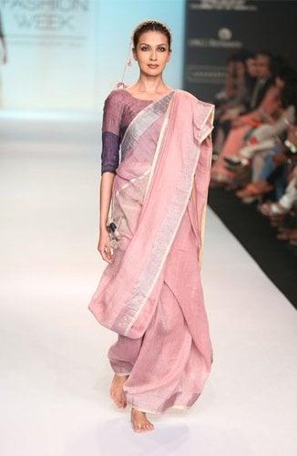 Summer Linen Saree