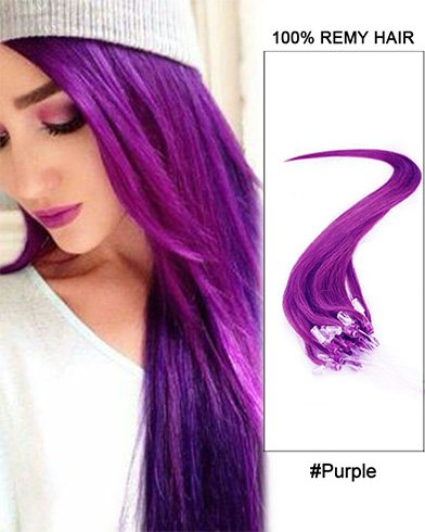 Ways To Wear Lilac Hair Extensions