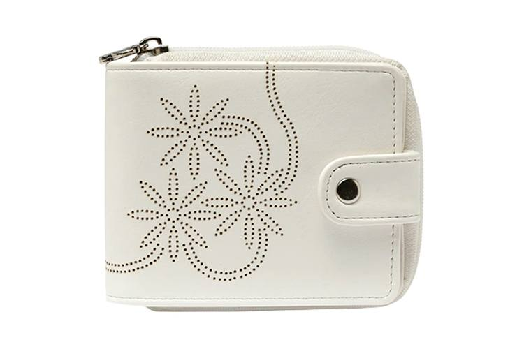 White Leatherette Wallet