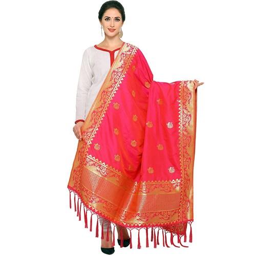 Woven Silk Banarasi Dupatta