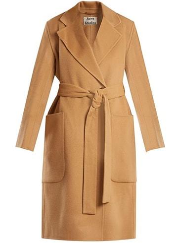 Acne Studios Camel Coat