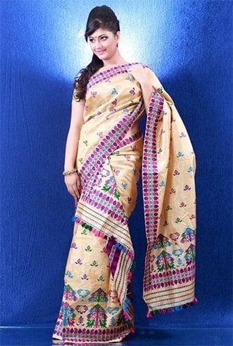 Assamese Style Dupatta