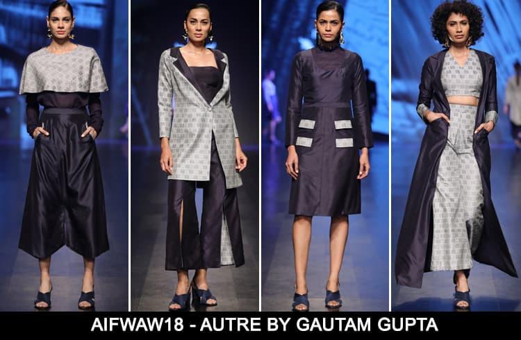 Autre by Gautam Gupta at AIFWAW 2018
