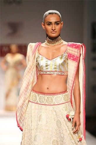 Bengali Style Drape