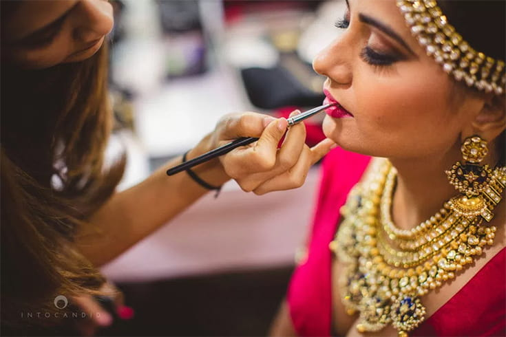 Step by Step Bridal Party Makeup
