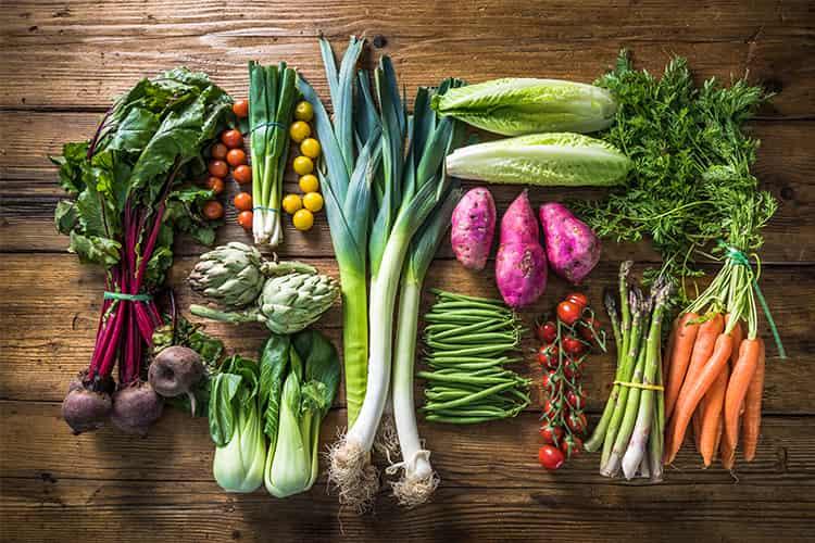 Kalorien-Diagramm für indische Nahrungsmittel, Gemüse und Früchte, zum von Eignung beizubehalten