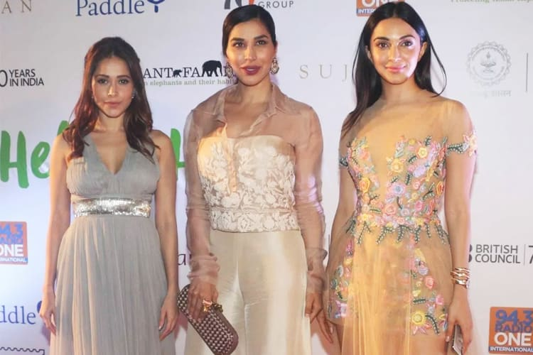 Bollywood Stars At Help The Haathi Event