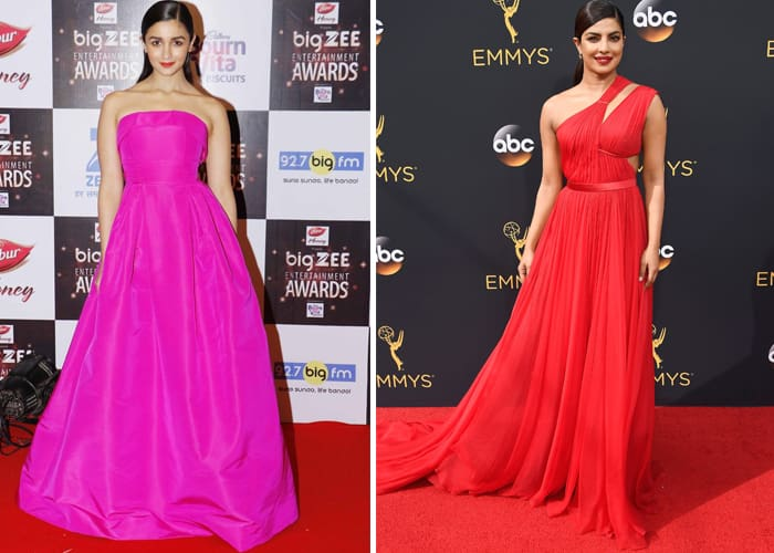 Celebrities Inspired Party Gowns