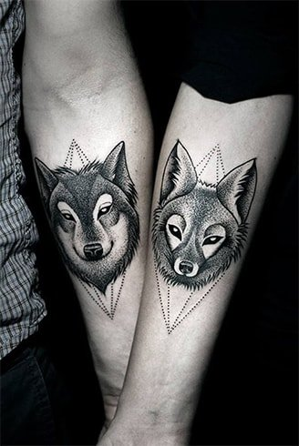 Couple Animal Tattoo