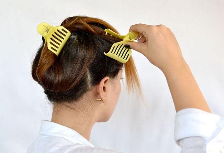 Dusting hair
