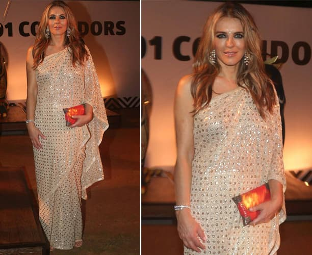 Elizabeth Hurley At Help The Haathi Event