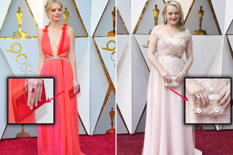 Evening Purse Spotted At The Oscars 2018