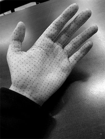 Handful of Dots Tattoo
