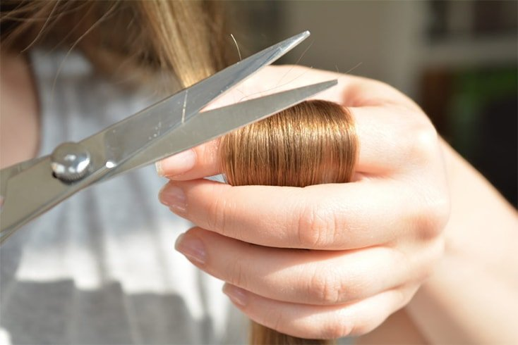 How to dust thin hair
