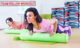 Foam Roll Exercise Helps Banish Bloating