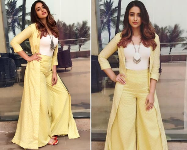 Ileana D'Cruz in Anushree Reddy outfit