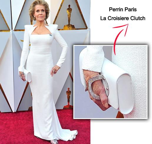 Jane Fonda Perrin Paris La Croisiere Clutch