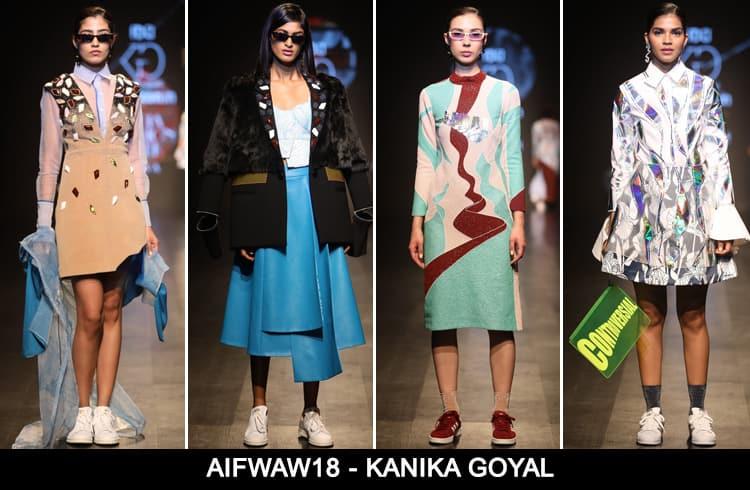 Kanika Goyal at AIFWAW 2018
