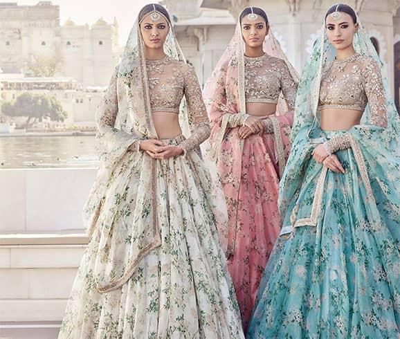 Lehenga Designs For Bride Sister