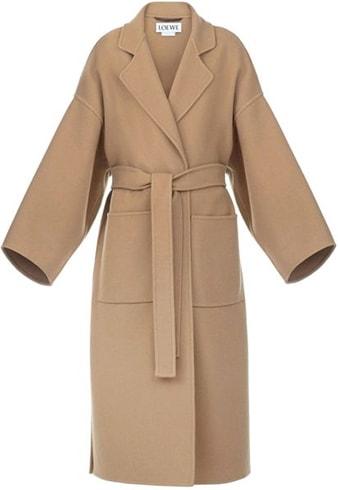 Loewe Camel Coat