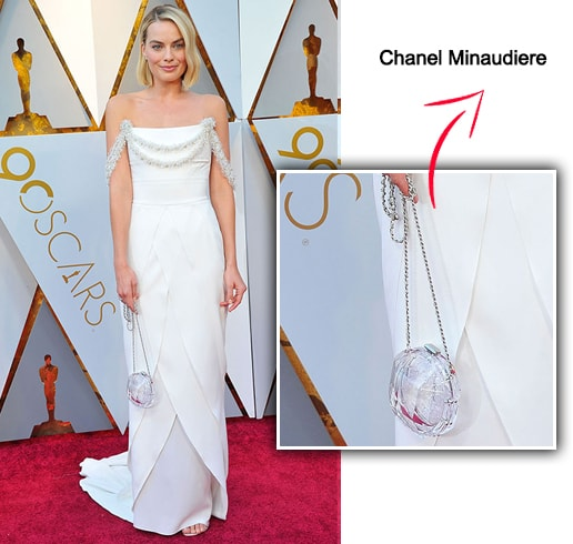 Margot Robbie Chanel Minaudiere