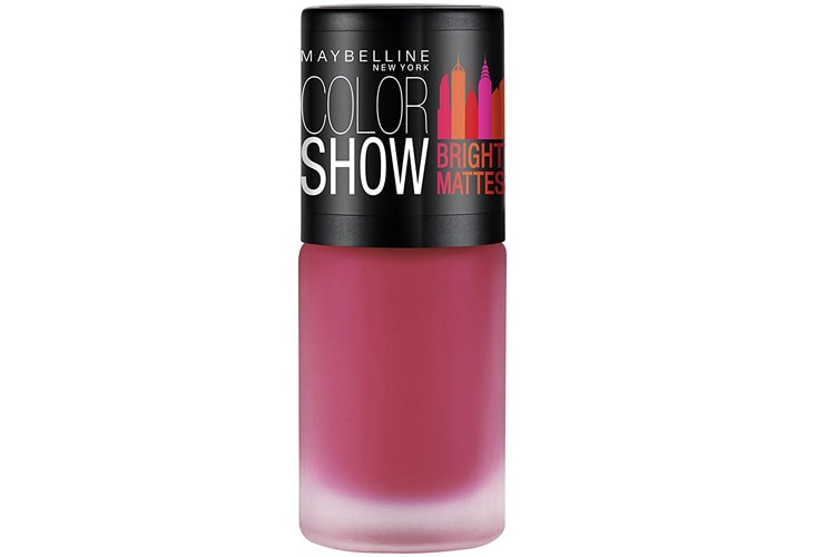 Maybelline New York Colour Show Bright Matte Nail Paint Pink