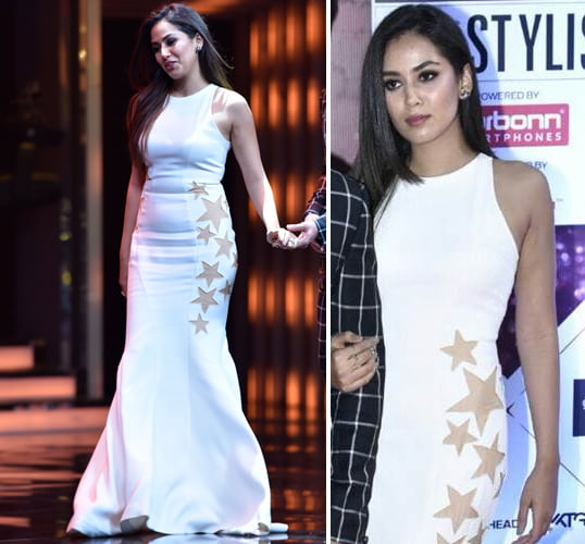 Mira Rajput in Party Gown