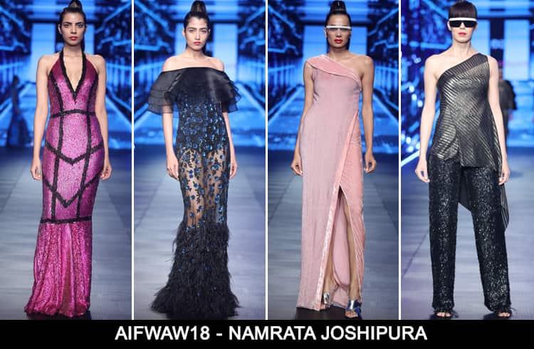 Namrata Joshipura at AIFWAW 2018
