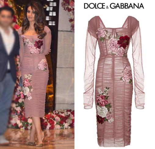 Natasha Poonawalla in Dolce and Gabbana