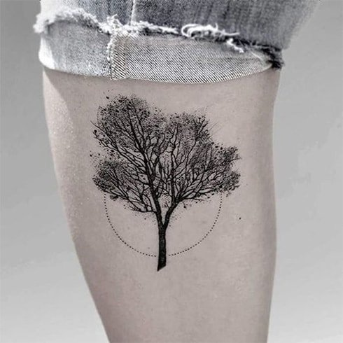 Nature-inspired Tattoo